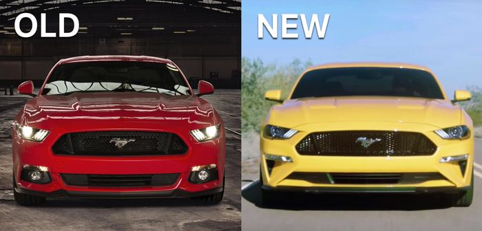 The 2018 Ford Mustang Facelift Has Been Leaked And Not Everyone's ...