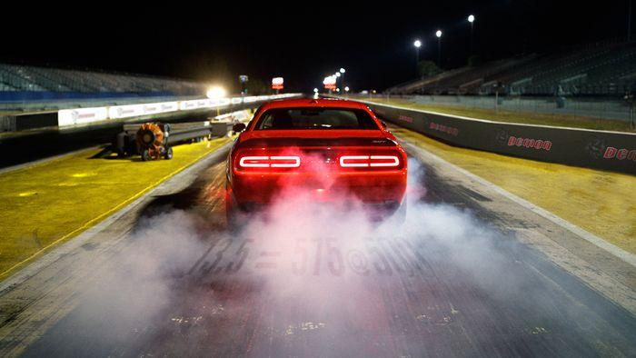 Dodge Challenger Demon Truth Remains Hidden