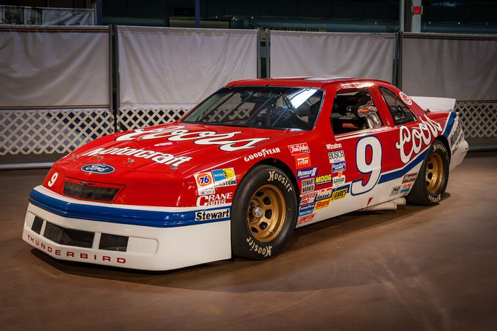 Bill Elliott Race Car Numbers