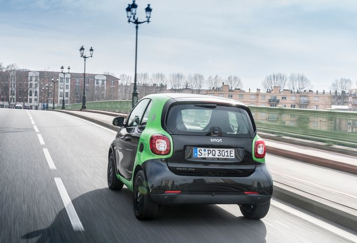 Rushing Across A City In An Electric Smart Was The Most