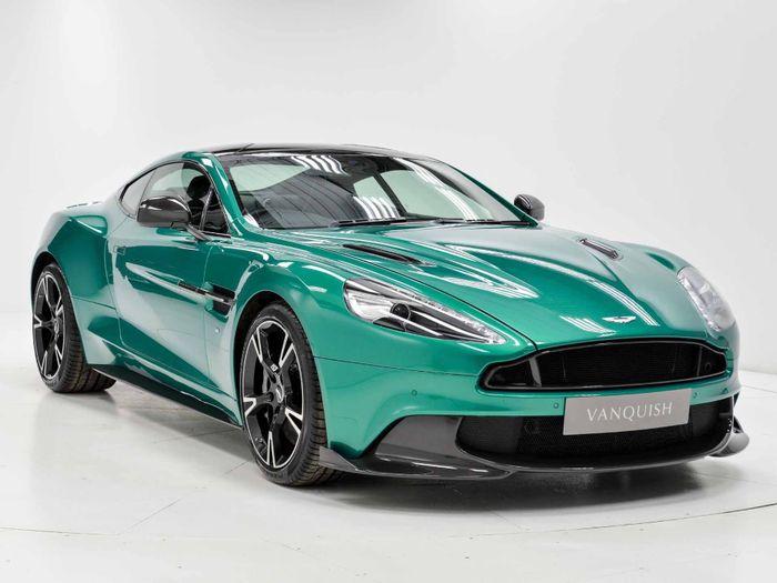 Mydreamgarage 354 Aston Martin Vanquish S In Viridian Green