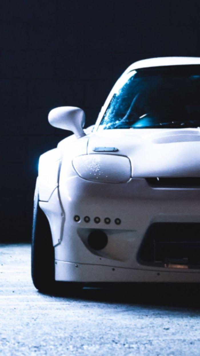 Mazda Rx7 Rocket Bunny Iphone Wallpaper