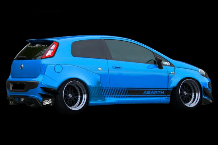 rocket bunny fiat punto evo abarth. Black Bedroom Furniture Sets. Home Design Ideas