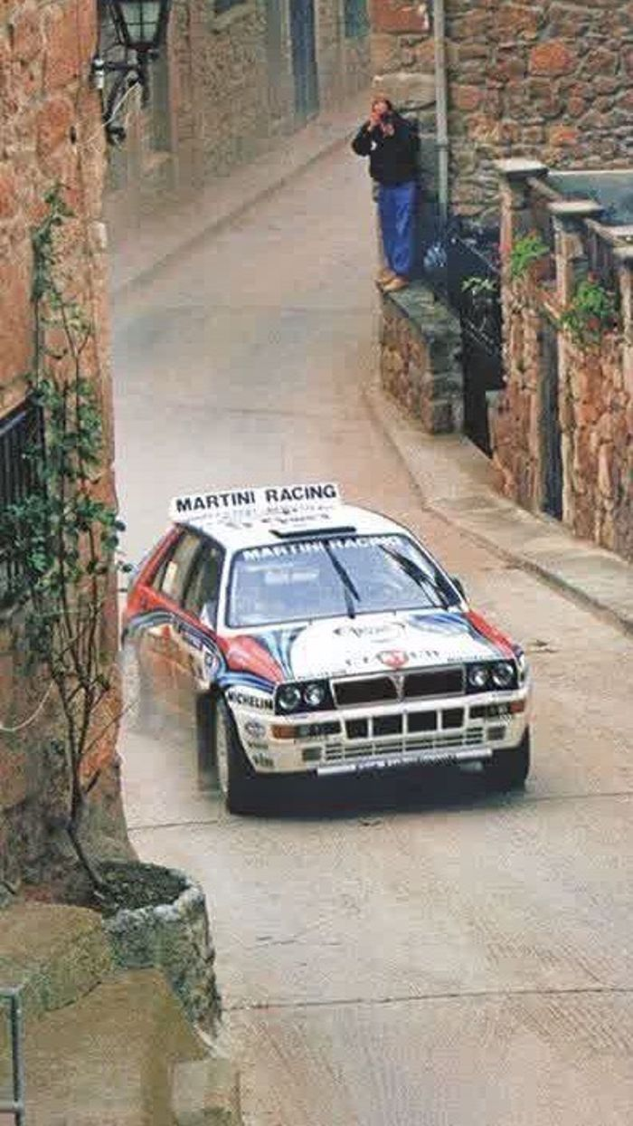 Lancia Delta Hf Integrale Evolution Rallye Martini Wallpaper