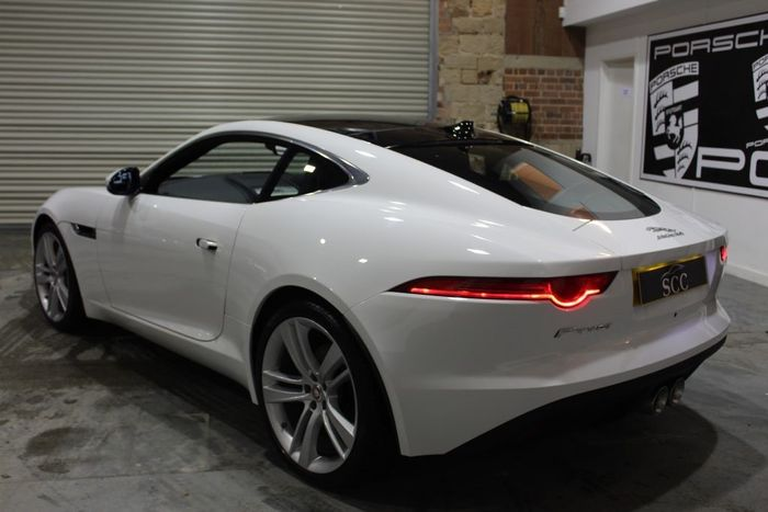 ... Dashing With Its Polar White Finish And 20 Inch Rims, And Is Up For  £39,999, A Few Grand More Than The Starting Point For Used F Type Coupes.