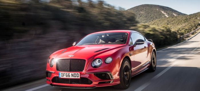 2018 Bentley Continental Supersports Is A Leather Lined Luxury Two Door Sports  Car That Weighs More Than Some Full Size SUVs But Can Outrun A Corvette ...