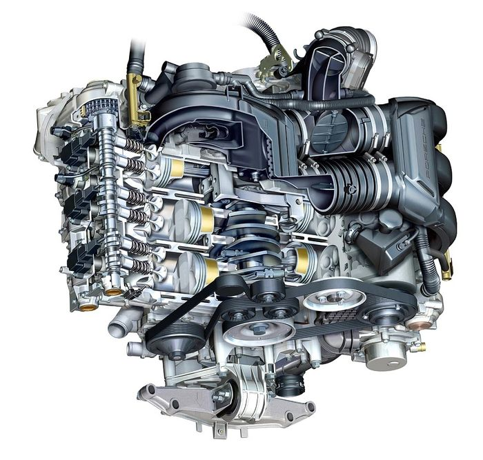 Porsche Boxster Engine Heat: How Much Engine Power Is Lost Through Ancillary Components?