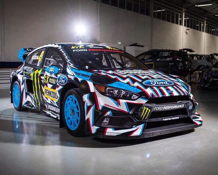 Ken Block 2017 Ford Focus Rs Rx