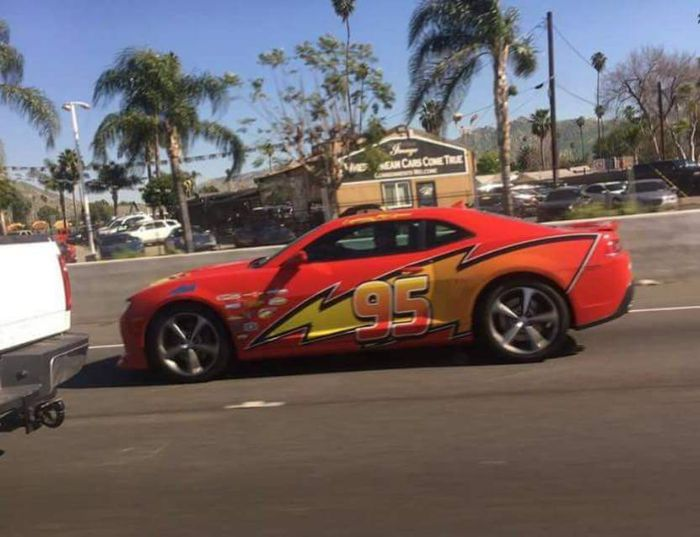 Lightning Mcqueen In Real Life Be Like