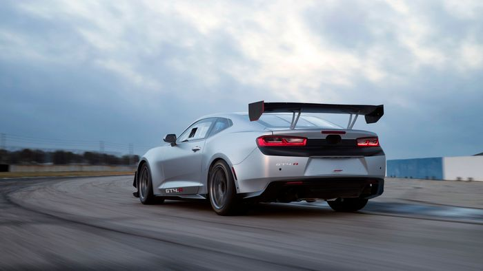 The Supercharged Camaro Zl1 1le Is Already Going Racing