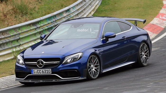 though more precisely mercedes does besides the fact that top amg s model makes 510 hp it is unable to keep pace on
