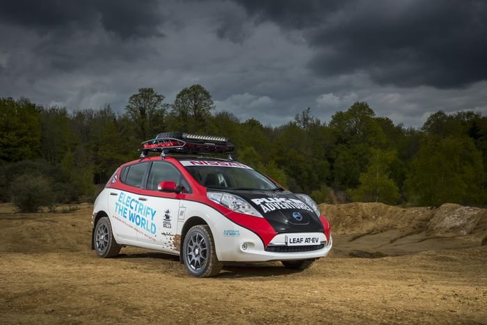 This Nissan Leaf is Going Racing in the Last Place You'd Expect