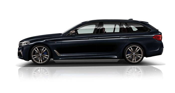 The new BMW M550d xDrive
