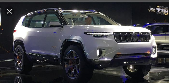 jeep grand wagoneer 2019 may be based on the yuntu concept