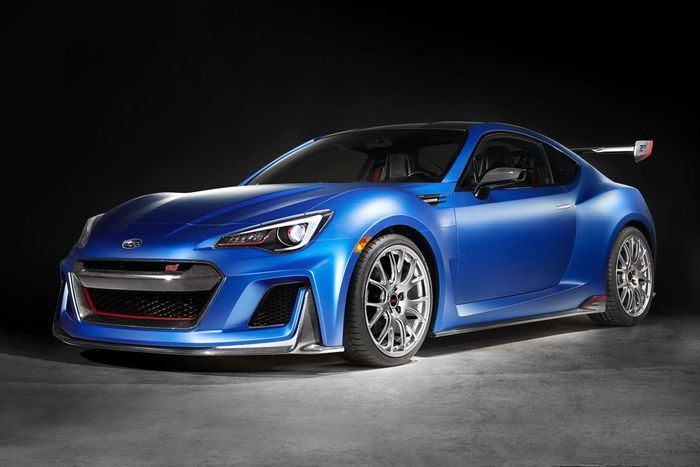 Subaru BRZ STI hinted in preview image