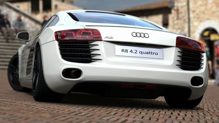 The Evolution of the Audi R8