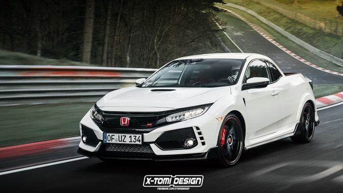 the honda civic type r pickup is the car you never knew. Black Bedroom Furniture Sets. Home Design Ideas