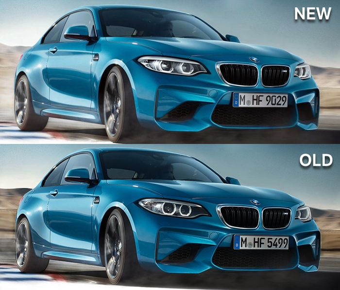 Bmw M2: The Facelifted BMW M2 Has Been Leaked Early