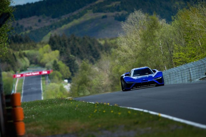 Electric car's record-breaking Nurburgring lap