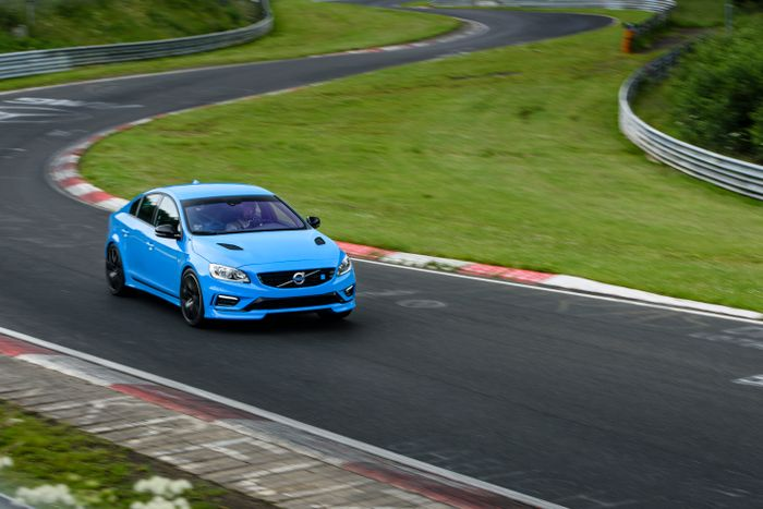 Volvo has claimed a Nürburgring lap record