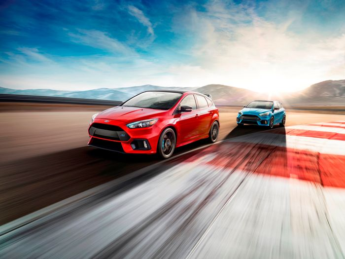 Americans! Your 2018 Ford Focus RS now comes with an LSD