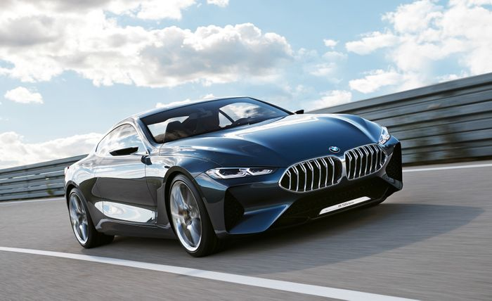 Here S A Better Look At Bmw S New 8 Series