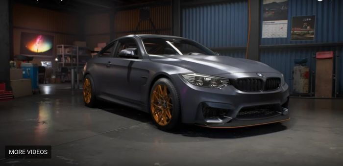 BMW M4 GTS Need For Speed Payback Unofficial Car List