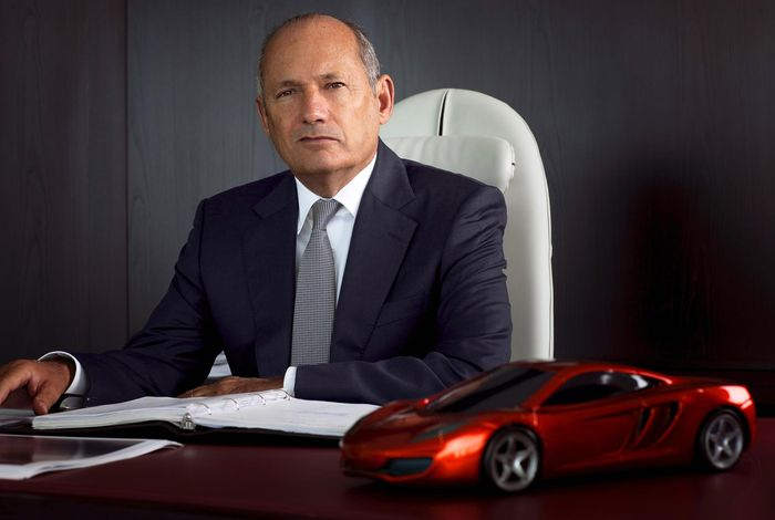 Ron Dennis steps down as head of McLaren F1