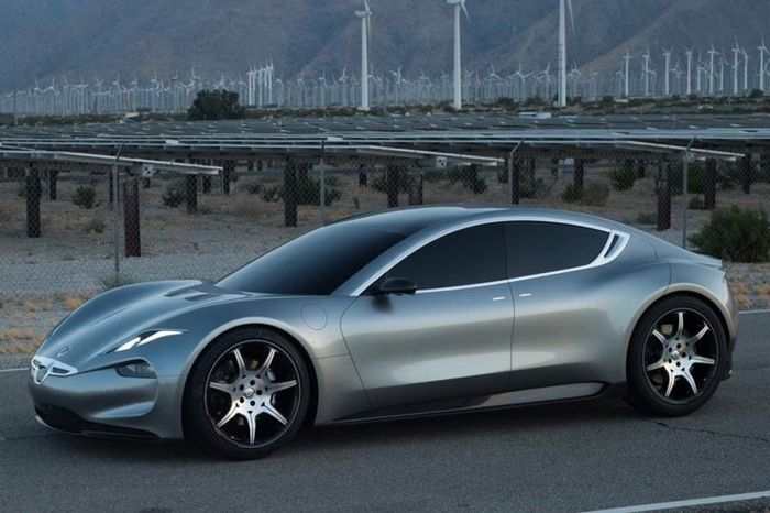 Fisker EMotion Fully Revealed