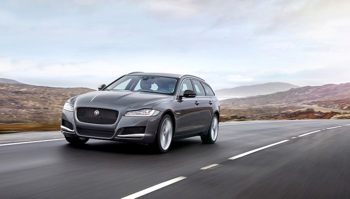 Jaguar XF Sportbrake Wagon Revealed