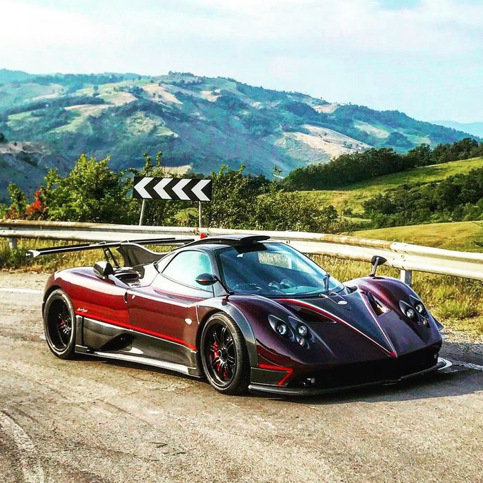 Every Pagani Zonda Ever Made