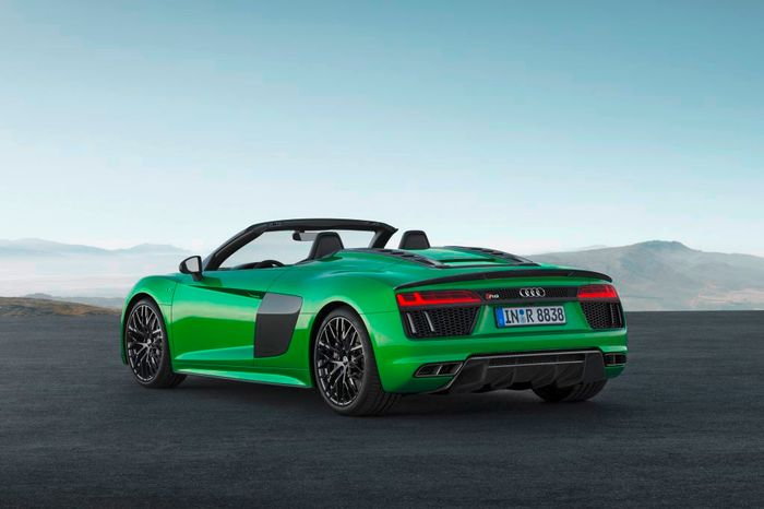 Audi R8 Spyder V10 Plus Revealed With 602bhp