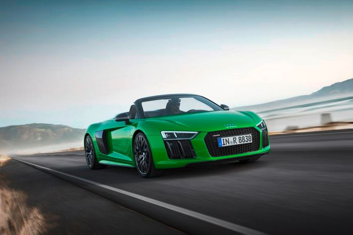 R8 V10 plus is Audi's fastest open-top ever