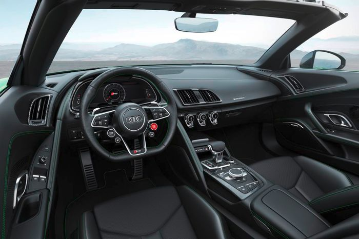 Audi R8 Spyder V10 plus arrives with 610 horsepower