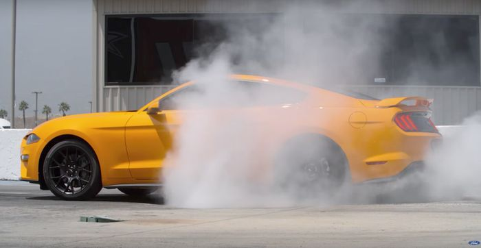 How Ford is making Burnouts Easier for all 2018 Mustang Owners