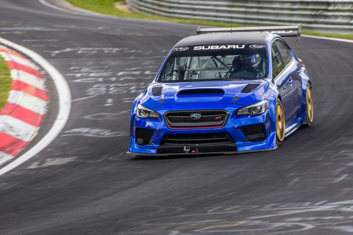 This Prodrive-Tuned WRX STI Has Just Cracked A Sub-7-Minute
