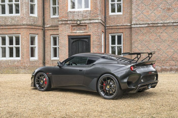 Lotus Evora GT430 is the most powerful road-going Lotus