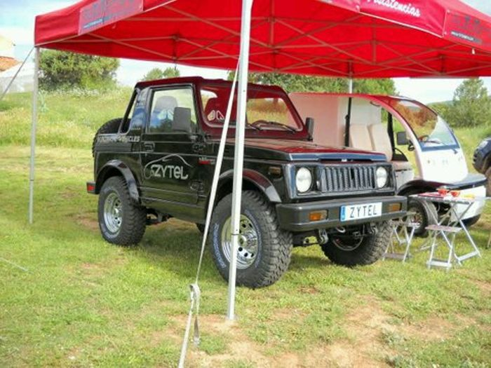 Spotted Back In 2010 Ev Suzuki Samurai Zytel 4 With Electric Engine Swap