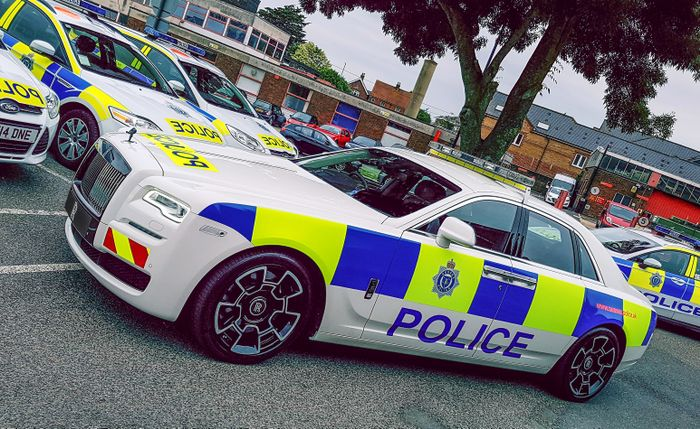 Poshest police car ever? Rolls-Royce Ghost gets law enforcement makeover
