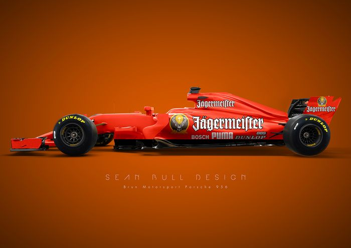 Renders Are The Work Of Graphic Designer Sean Bull Who Has Taken Some Group Cs Most Iconic Liveries And Transferred Them To A 2017 Spec F1 Car