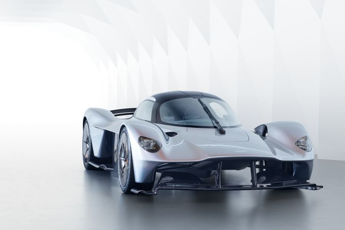 Aston Martin shows off the near-production Valkyrie