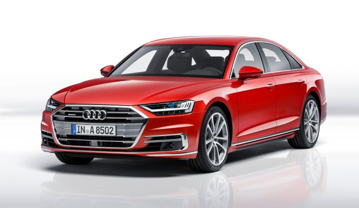 New 2018 Audi A8 Revealed At Audi Summit