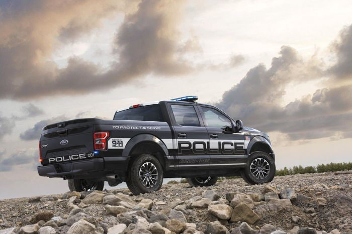 Ford F-150 Police Responder is ready for duty