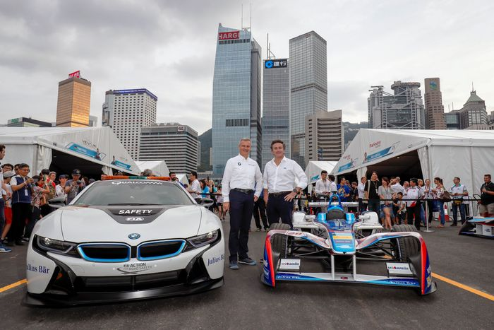 BMW enters Formula E as official manufacturer in 2018