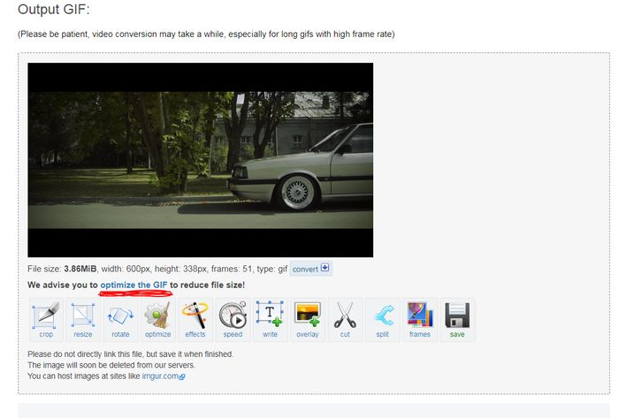 Random tutorial: How to convert any video clip to a high