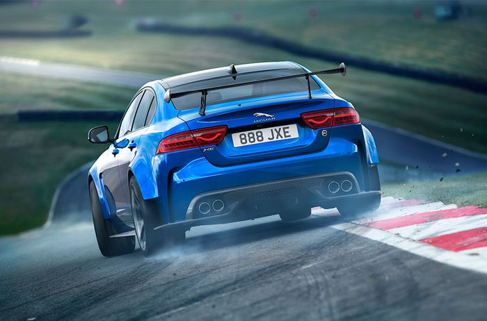2018 Jaguar XE Special Vehicle Operations Project 8 , A Long