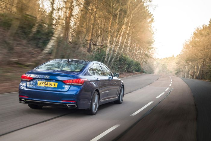Hyundai Uk Has Pulled The Genesis Saloon After Selling Just In