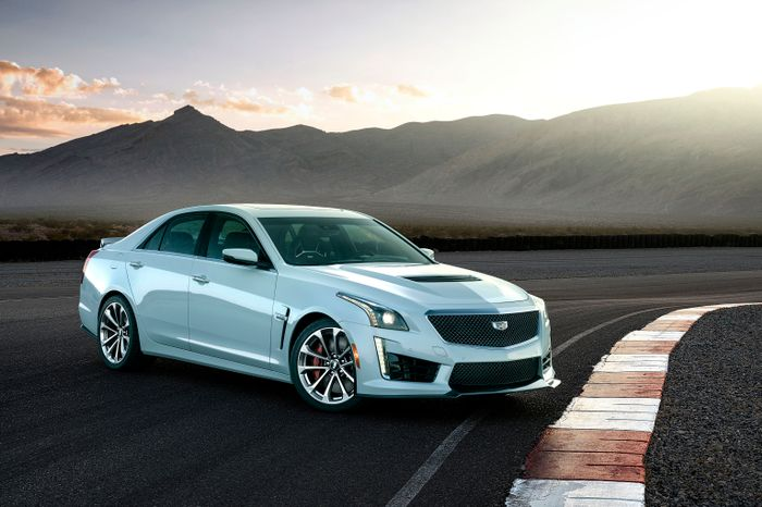 Cadillac Celebrates 115 Years With CTS-V Glacier Metallic Edition