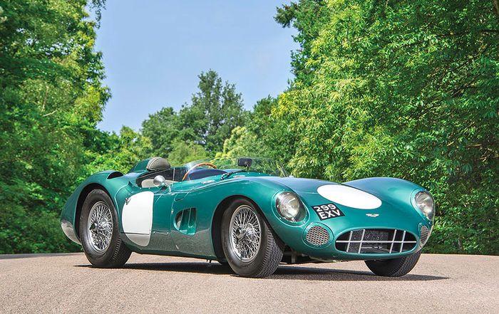 Stunning Aston Martin DBR1 breaks auction record