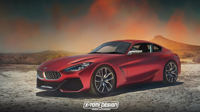 This is the brand new BMW Z4